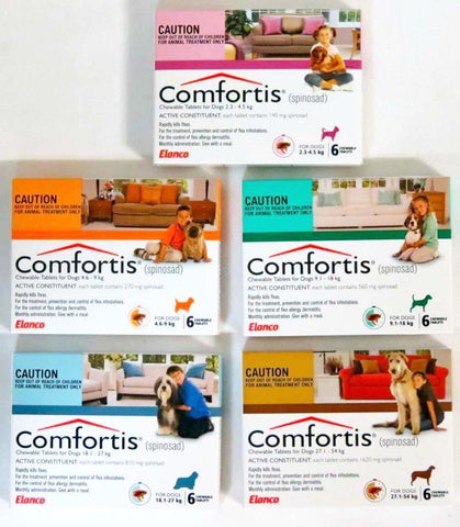 Image of Comfortis Flea Treatment for Dogs - Chewable
