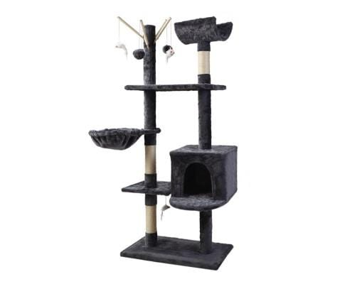 i.Pet Cat Tree Trees Scratching Post Scratcher Toys Condo House Furniture Wood Everyday Pets