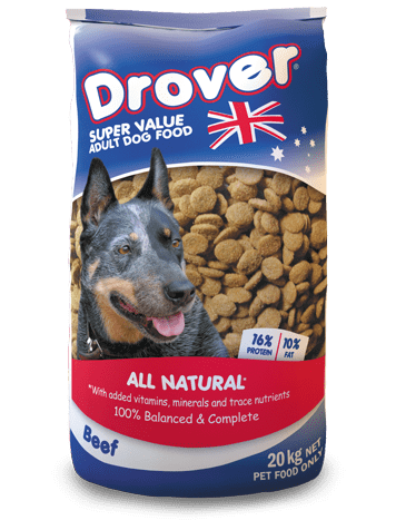 CopRice Drover Super Value Adult Dog Food 20kg Everyday Pets