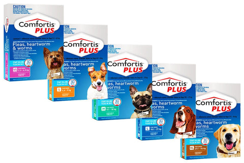 Image of Comfortis Plus Flea Treatment for Dogs - Chewable