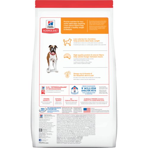 Hill's Light Adult 1-6 Dry Dog Food 3kg Everyday Pets