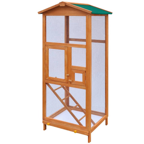 Image of Bird Cage Wood 65x63x165 cm