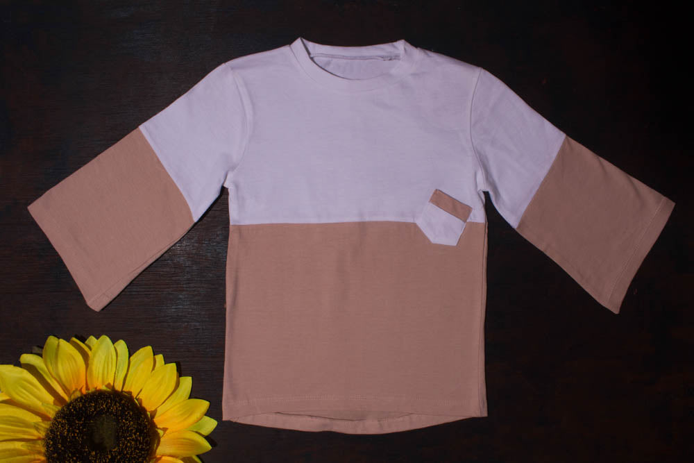 MNM Cotton Tilted Pocket Top