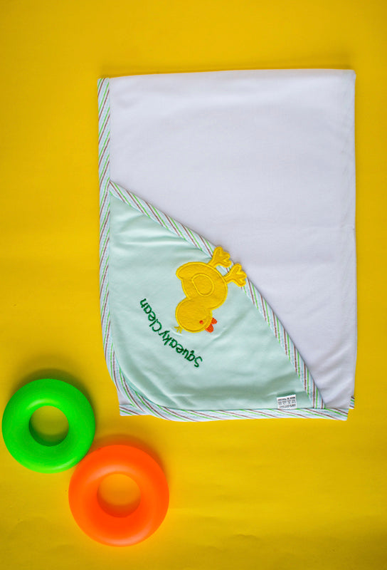 Quack Quack Duck Patch- Wrap Blanket