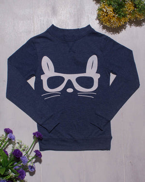 Missy N Messy Cotton Tee - Sunglass