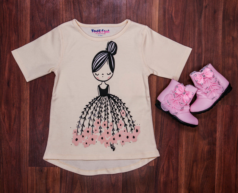 Missy N Messy Cotton Doll Top