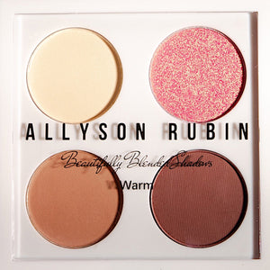 Beautifully BLENDED EYESHADOW QUAD IN WARM