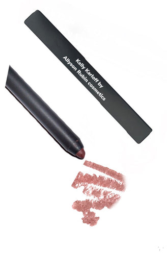 Kelly Karloff lip liner by Allyson Rubin cosmetics.