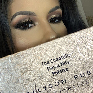 The Chantalle Day 2 Nite Eyeshadow Palette (with PRESSED GLITTER) (LIMITED EDITION)