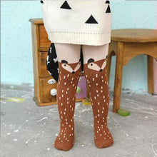 "Load image into Gallery viewer, Baby Girl Tights ""Fox"""