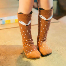 "Load image into Gallery viewer, Kids Socks ""Fox"""