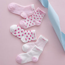 Load image into Gallery viewer, Baby Socks Set (5 pairs)
