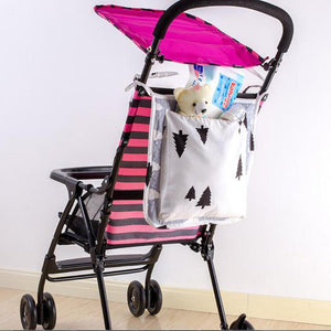 Baby Stroller Hanging Basket Storage Bag