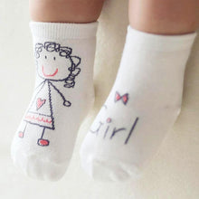 "Load image into Gallery viewer, Baby Socks ""Newborn"""