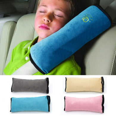 Car Pillow For The Seat Belt