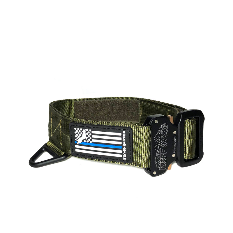 "Ruff Swag Tactical 1.75"" Collar with Custom Embroidery"
