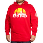 Ruff Swag Sunset Medium Weight Hoodie