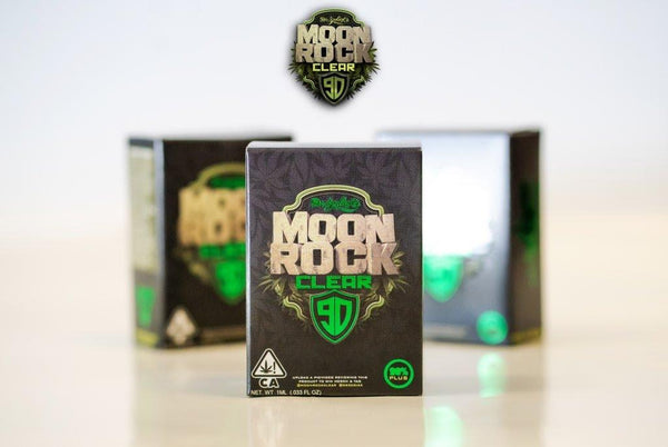 Dr Zodiak's Moonrock Clear 1g Cartridge- GRAPES GONE BANANAS (Hybrid/Indica)