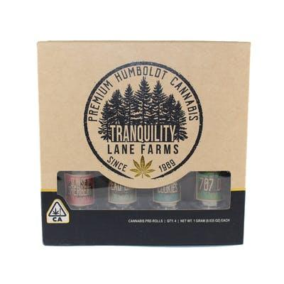 Tranquility Lane Farms FANTASTIC FOUR PACK PREROLL