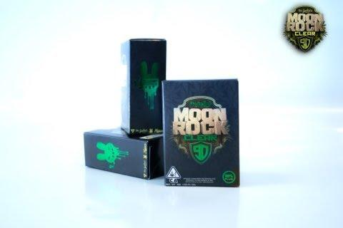 Dr. Zodiak's Moonrock Clear 1g Cartridge- BOBBY BLUE (Indica)