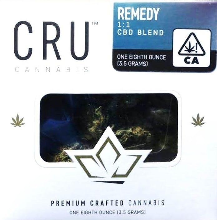 CRU Cannabis REMEDY CBD BLEND 1:1