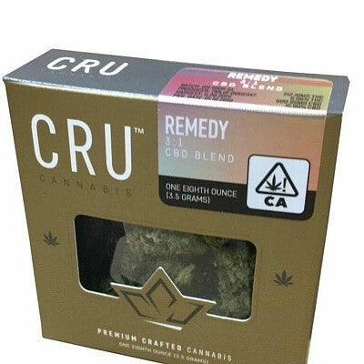 CRU Cannabis REMEDY CBD BLEND 3:1