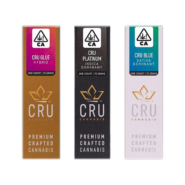 CRU Cannabis Preroll  .75g REMEDY CBD BLEND 7:1