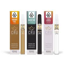 CRU Cannabis .3ml Disposable Pen BLUEBERRY KUSH