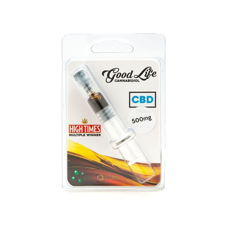 Good Life CBD Syringe 500mg