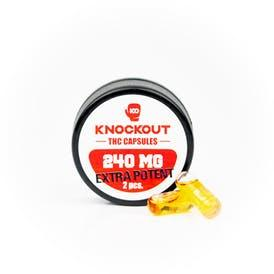 Knockout EXTRA POTENT THC Capsules 240mg