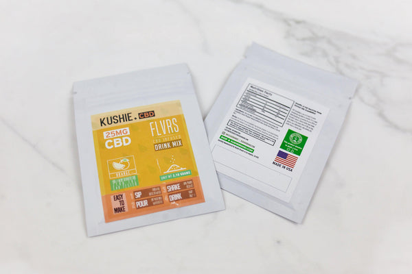 CBD FLVRS Drink Mix ORANGE (25mg)