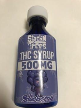 StackN Trees BLUEBERRY THC SYRUP 500mg