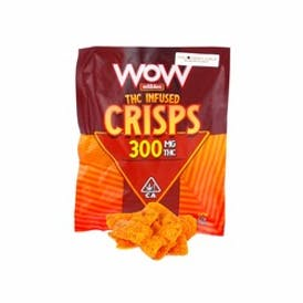 WOW EDIBLES Chili Cheesy Curls (300mg)