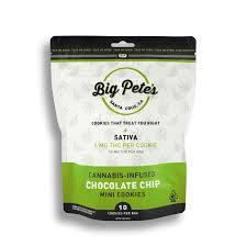Big Pete's Treats 10pk Cookies CHOCOLATE CHIP 50mg (Sativa)