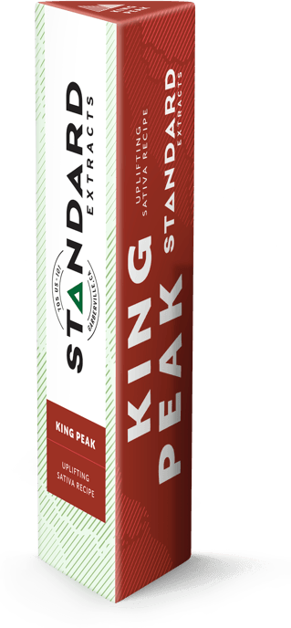 Standard Extracts .25g Disposable KING PEAK  (Sativa)