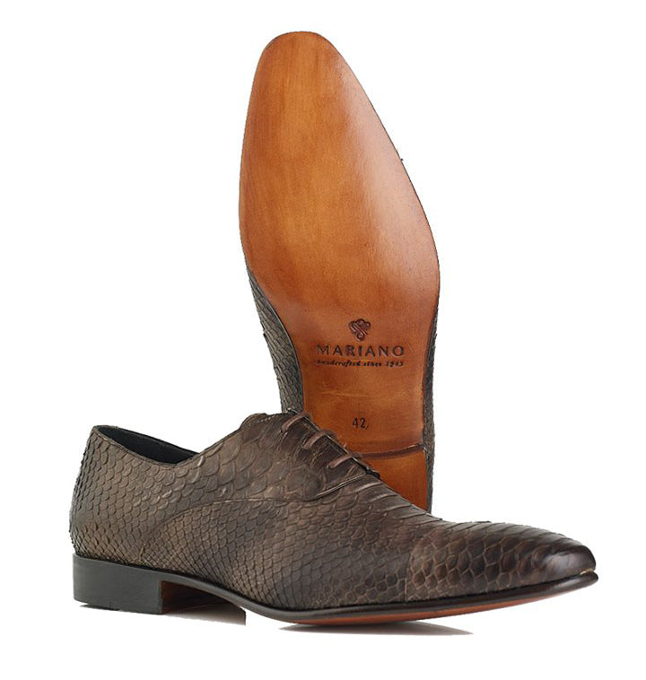 Chaves, Exotic Oxford Shoe - Mariano Shoes