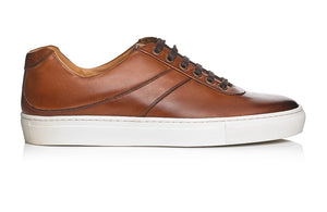Calf Leather Sneakers - Mariano Shoes - Handcrafted since 1945