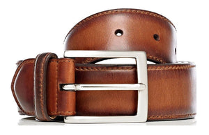 Calf Leather Belt - Mariano Shoes - Handcrafted since 1945