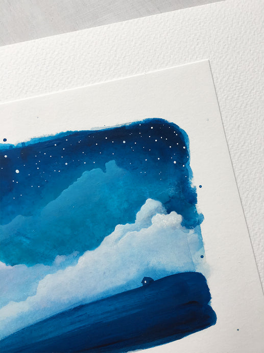Original Painting - Watercolour Skies No. 8
