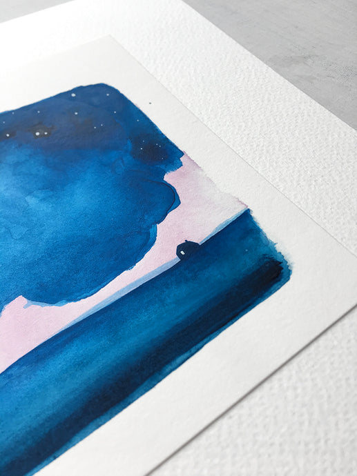 Original Painting - Watercolour Skies No. 7