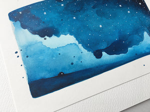 Original Painting - Watercolour Skies No. 5
