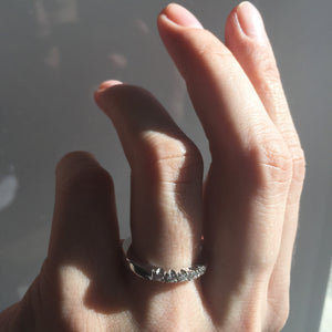 Engagement and weddingring