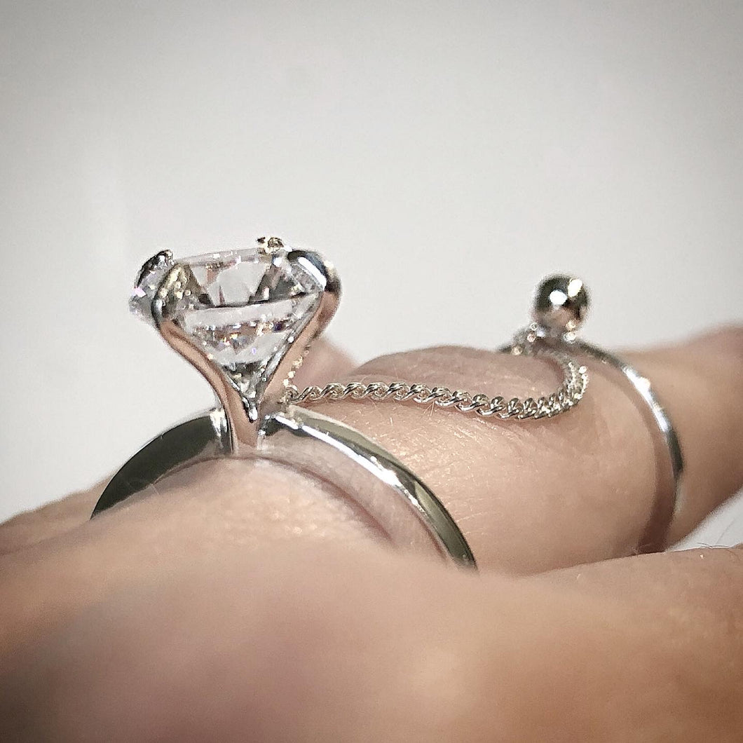 Double crystal ring