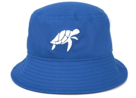 Deep Blue Bucket Hat