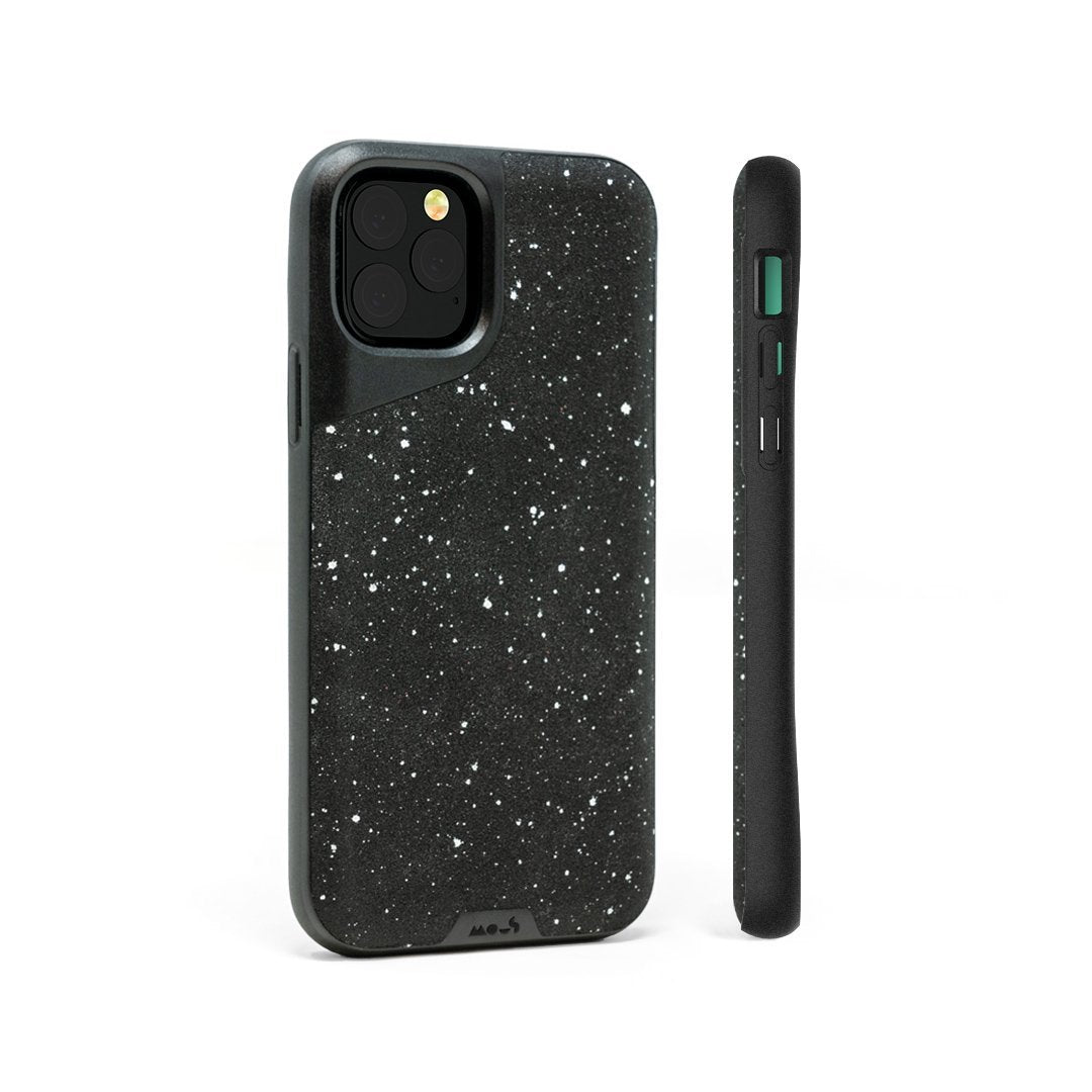 Speckled leather case image
