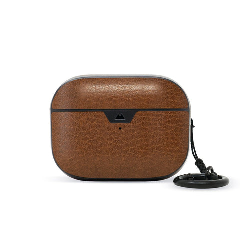 Brown Leather AirPods Pro Case From Mous
