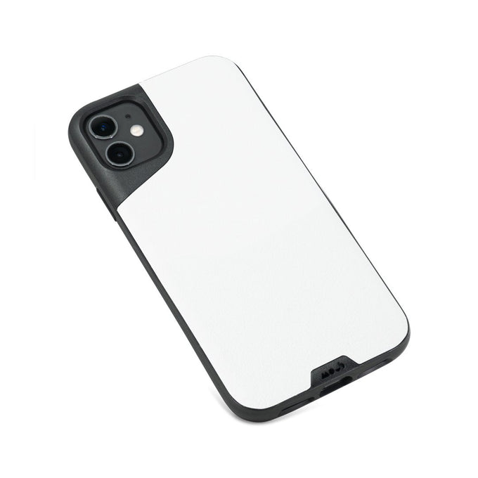 White Leather Protective iPhone 11 Case
