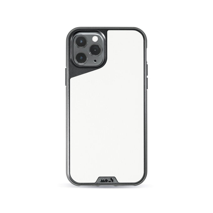 White Leather Strong iPhone 11 Pro Max Case