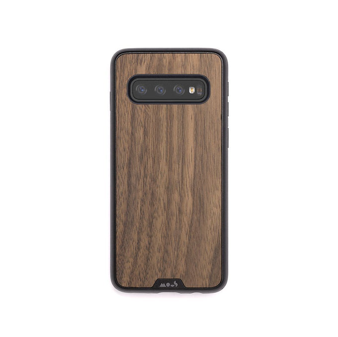 Walnut Protective Samsung S10 Case