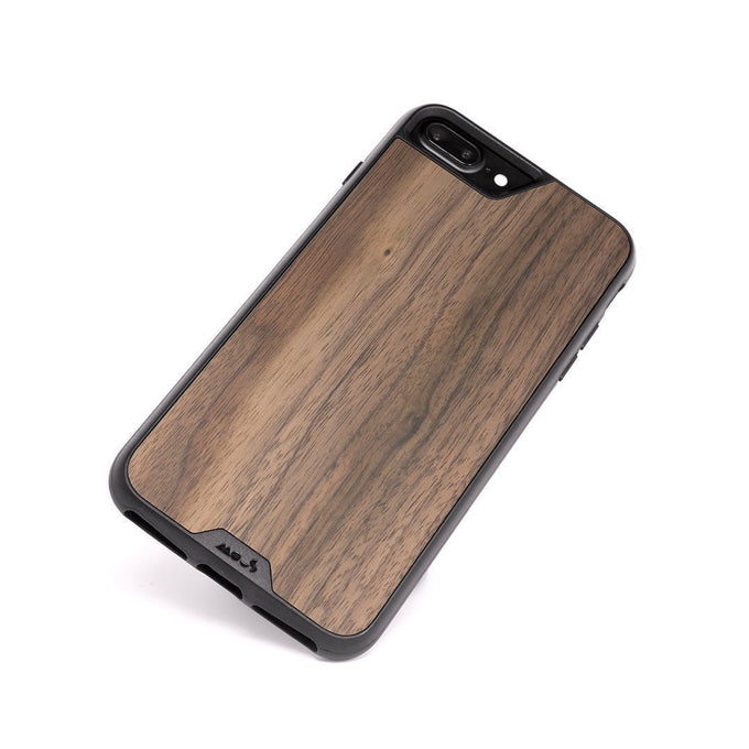 Walnut Indestructible iPhone 8 Plus Case